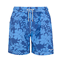 Buy Hackett London Floral Print Swim Shorts Online at johnlewis.com