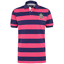 Buy Hackett London Beach Stripe Polo Shirt Online at johnlewis.com