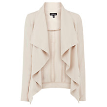Buy Warehouse Zip Detail Drape Jacket Online at johnlewis.com