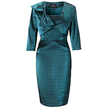 Buy Adrianna Papell Shimmer Two-In-One Dress, Peacock Online at johnlewis.com