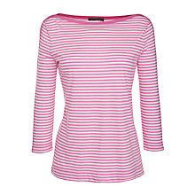 Buy Lauren by Ralph Lauren 3/4 Sleeve Boat Neck Top Online at johnlewis.com