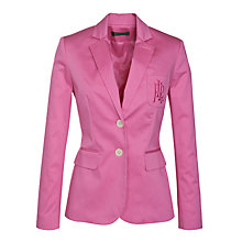 Buy Lauren by Ralph Lauren 2 Button Monogram Jacket Online at johnlewis.com