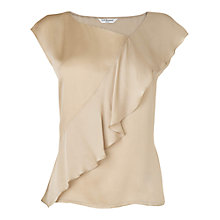 Buy L.K. Bennett Shania Top, Champagne Online at johnlewis.com