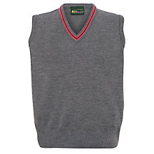 Buy Lochinver House School Boys' Slipover, Grey/Pink Online at johnlewis.com