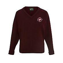 Buy Sir Frederic Osborn School Years 7-11 Girls' Jumper, Maroon Online at johnlewis.com
