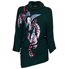 Buy James Lakeland Sequin Drape Jumper Online at johnlewis.com