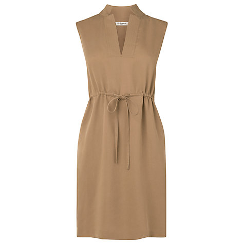 Buy L.K. Bennett Ernie Casual Dress, Sand Online at johnlewis.com