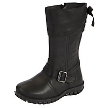 Buy M Kids Bow Black Boot Online at johnlewis.com