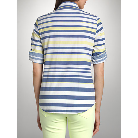 Buy Betty Barclay Striped Shirt, White/Blue Online at johnlewis.com