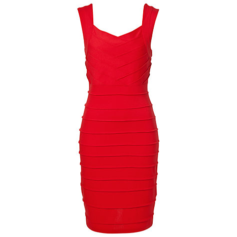 Buy Betty Barclay Sleeveless Bodycon Dress, Lollipop Online at johnlewis.com