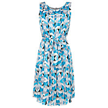 Buy L.K. Bennett Kaysa Dress, Blue/Silver Online at johnlewis.com