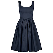 Buy L.K. Bennett Lila Summer Dress, Navy Online at johnlewis.com
