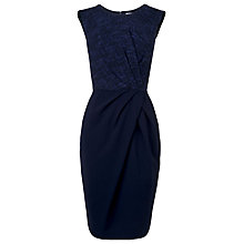 Buy L.K. Bennett Halina Tweed Dress, Navy/Electric Blue Online at johnlewis.com