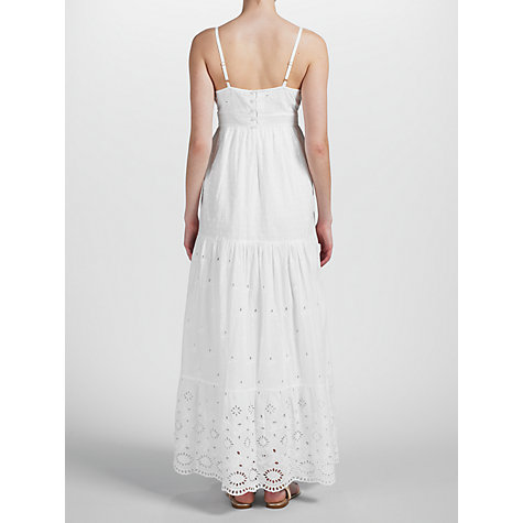 Buy Somerset by Alice Temperley Broderie Anglaise Maxi Dress, White Online at johnlewis.com