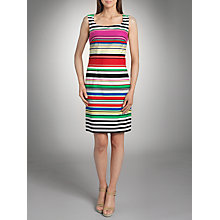 Buy Betty Barclay Cotton Bright Stripe Dress, Multi Online at johnlewis.com