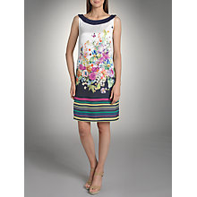 Buy Betty Barclay Floral Jersey Back Dress, Print Online at johnlewis.com