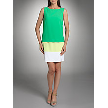 Buy Betty Barclay Sleeveless Tiered Dress, Green Online at johnlewis.com