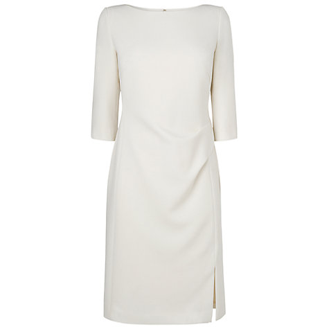 Buy L.K. Bennett Lydia Dress, Cream Online at johnlewis.com