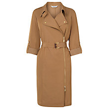 Buy L.K. Bennett Marva Biker Dress, Tan Online at johnlewis.com