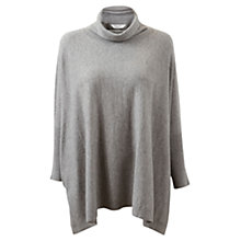 Buy East Oversized Jumper, Grey/Silver Online at johnlewis.com