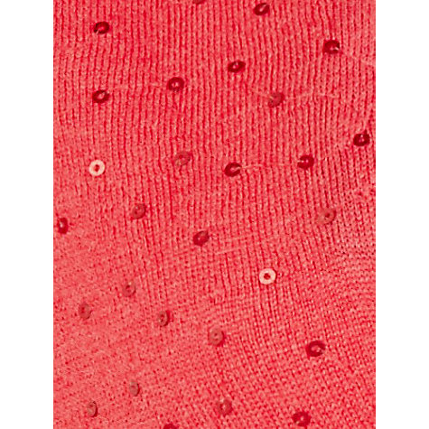 Buy Jacques Vert Sequined Bolero, Coral Online at johnlewis.com