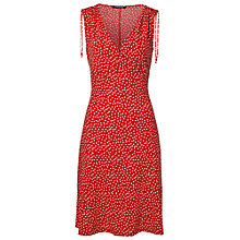 Buy Betty Barclay Sleeveless Spot Print Dress, Red/White Online at johnlewis.com
