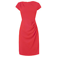 Buy L.K. Bennett Sabrina Hemmers Dress, Berry Red Online at johnlewis.com