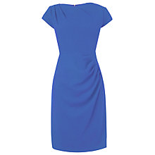 Buy L.K. Bennett Sabrina Cowl Neck Dress, Ocean Online at johnlewis.com