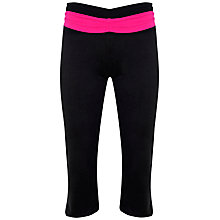 Buy Manuka Awakening Relaxed Capri Pants, Black Online at johnlewis.com