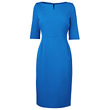 Buy L.K. Bennett Fitted Dress, Ocean Online at johnlewis.com