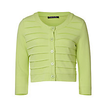 Buy Betty Barclay Tiered Knit Jacket, Green Online at johnlewis.com