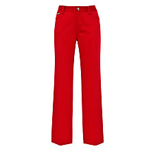 Buy Lauren by Ralph Lauren Slim Fit Trousers, Cherry Red Online at johnlewis.com