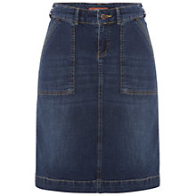 Buy White Stuff Suzy Skirt, Denim Online at johnlewis.com