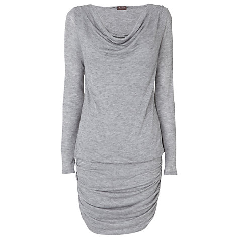 Buy Phase Eight Dana Jersey Tunic Dress, Grey Marl Online at johnlewis.com