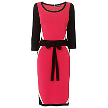 Buy Phase Eight Harlequin Dress, Raspberry Online at johnlewis.com