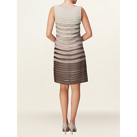 Buy Phase Eight Sofia Layered Dress, Praline/Dusty pink Online at johnlewis.com