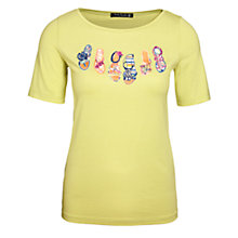 Buy Betty Barclay Flip Flop T-Shirt Online at johnlewis.com