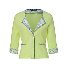 Buy Betty Barclay 3/4 Sleeve Jacket, Bright Lime Online at johnlewis.com