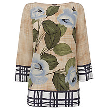Buy Phase Eight Lana Printed Blouse, Multi Online at johnlewis.com