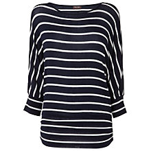 Buy Phase Eight Dana Top, Navy/Ivory Online at johnlewis.com