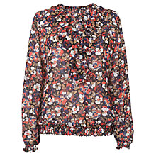 Buy Phase Eight Pansy Blouse, Multi Online at johnlewis.com