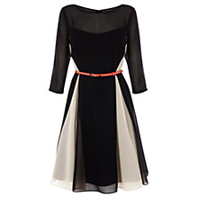 Buy Coast Clarissa Dress, Black/White Online at johnlewis.com