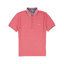 Buy Ted Baker Shesoff Woven Collar Polo Shirt Online at johnlewis.com