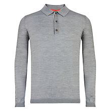 Buy Ted Baker Watzon Button Neck Jumper Online at johnlewis.com