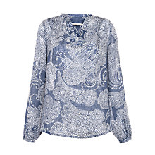Buy John Lewis Linen Paisley Print Tunic Online at johnlewis.com