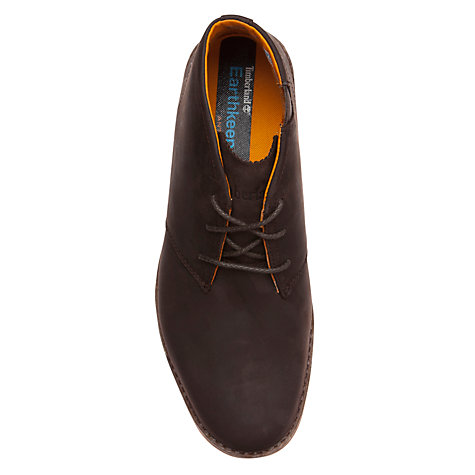 Buy Timberland Travel Chukka Boots, Chocolate Online at johnlewis.com