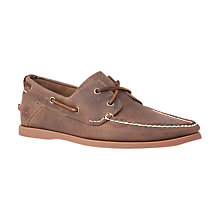 Buy Timberland Heritage 2-Eye Boat Shoe Online at johnlewis.com