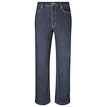 Buy John Lewis Stretch Denim Jeans, Dark Wash Online at johnlewis.com