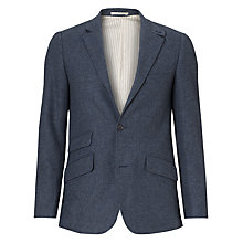 Buy JOHN LEWIS & Co. Abraham Moon Steel Blazer, Blue Online at johnlewis.com