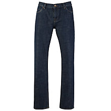 Buy JOHN LEWIS & Co. Dirty Selvedge Denim Jeans, Indigo Online at johnlewis.com